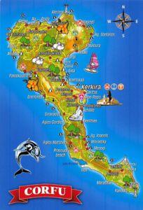 korfu-landkarte