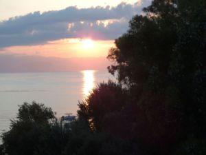 Sonnenuntergang Korfu