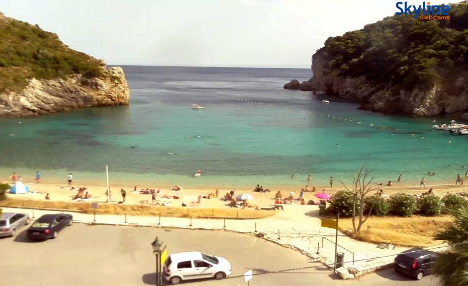 Livecam Korfu Paleokastritsa