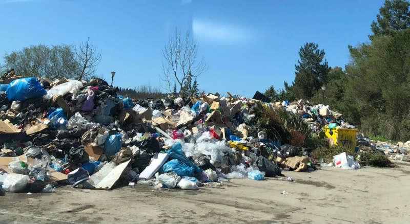 Müll auf Korfu
