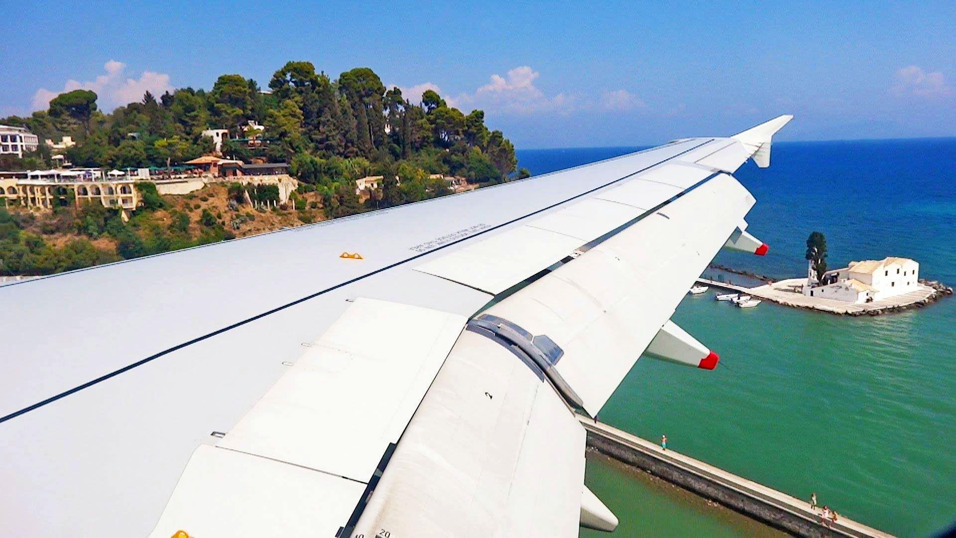 Bildergebnis für Flugzeug Korfu