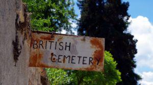 Britischer Friedhof Korfu