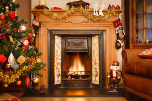 Weihnachtsfeuer